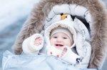 dziecko w czapeczce