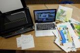 laptop i notatki